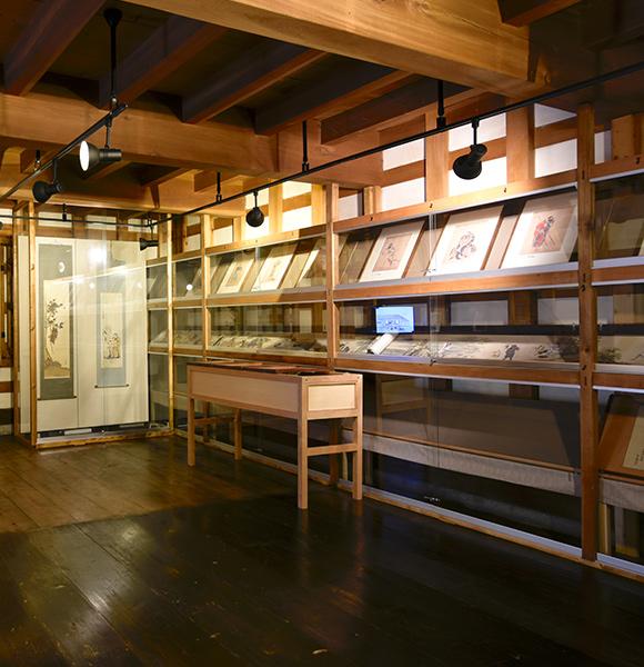 旧相马邸历史回廊(土仓美术展览室)