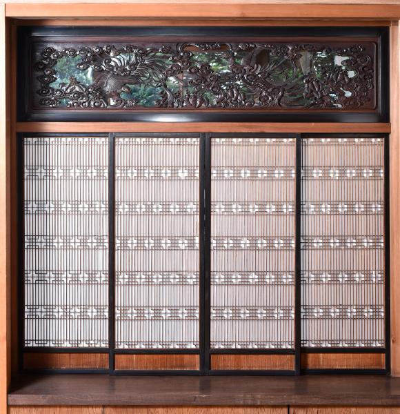 主日式客厅的付书院