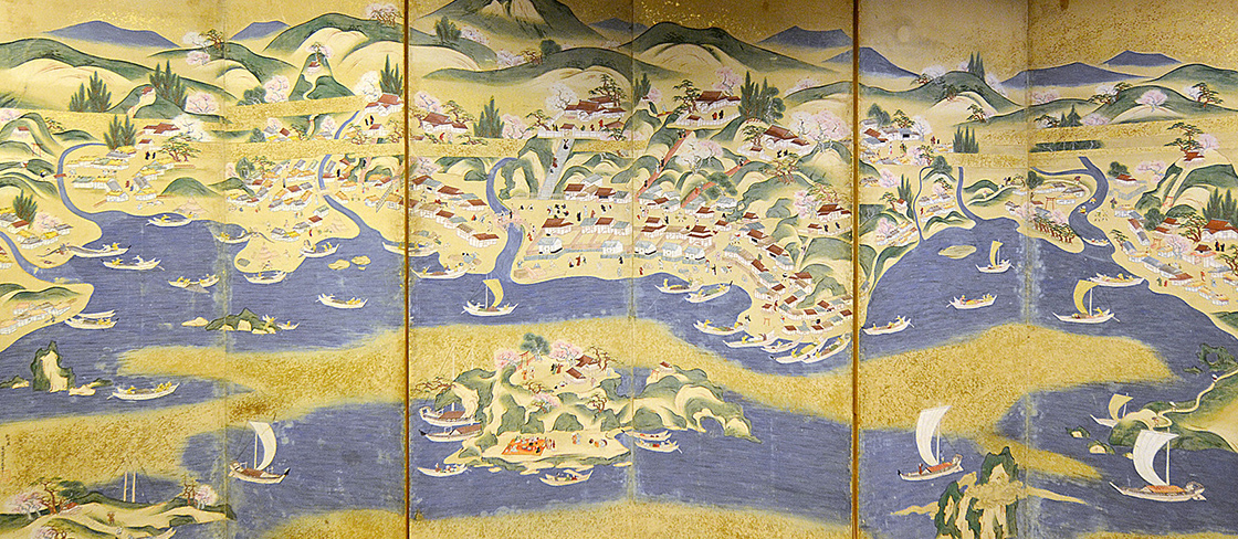 Esashi Folding Screen