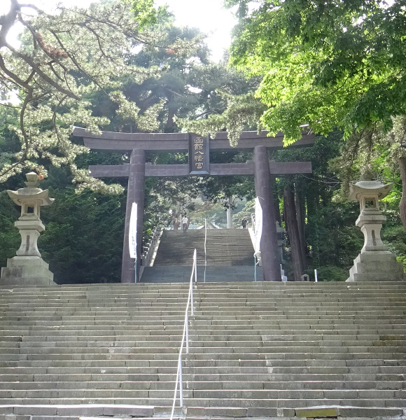 旧国幣中社(現函館八幡宮)