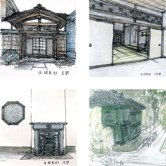 函館基坂の建築2
