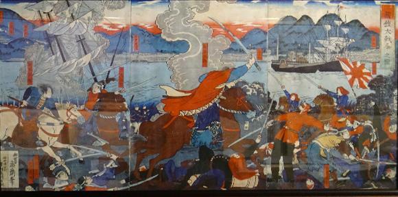 箱館大戦争之図